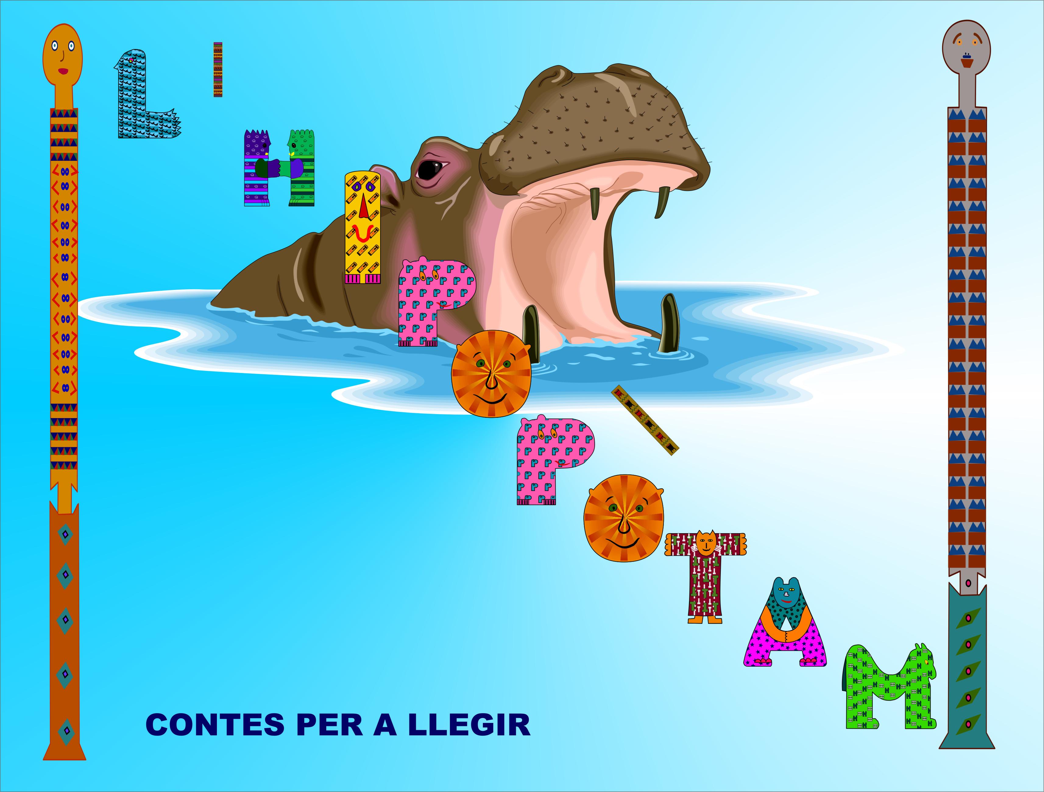 CONTES PASSAR A LLETRA LLIGADA- L'IHIPOPÒTAM
