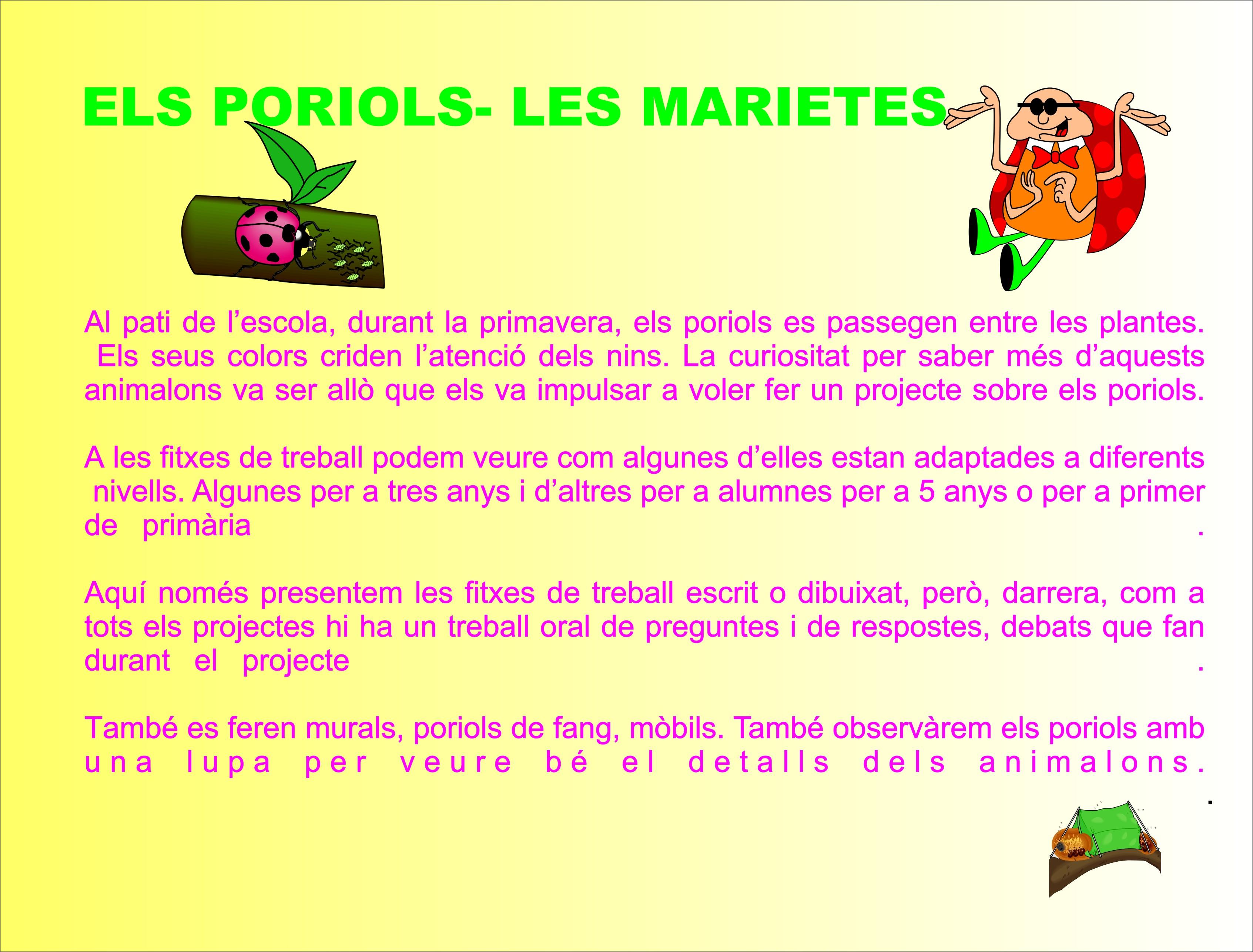 ELS PORIOLS-LES MARIETES