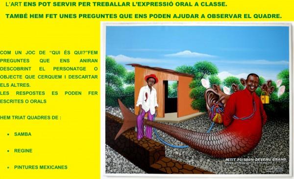 SAMBA-COMPRENSIÓ ORAL I ESCRITA